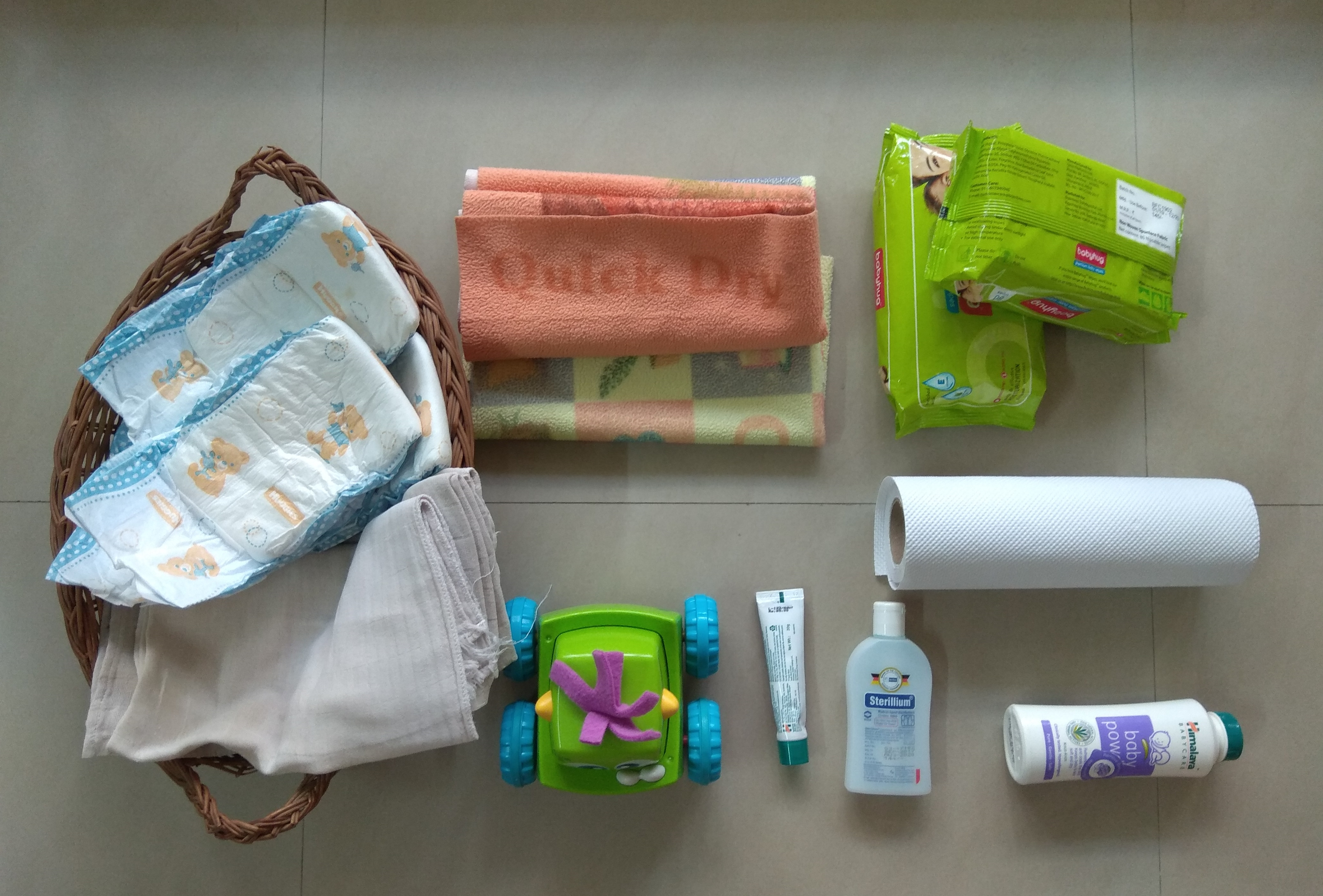 Diapering Essentials For Your Infant